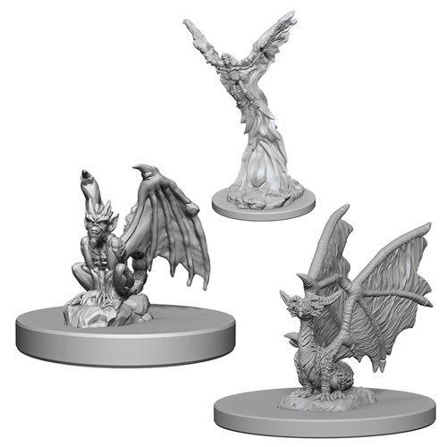 Dungeons And Dragons: Nolzurs Marvelous Unpainted Miniatures - Familiars