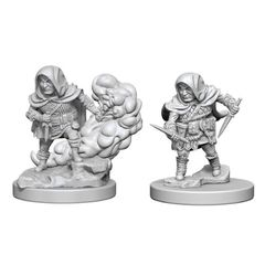 Dungeons And Dragons: Nolzur's Marvelous Unpainted Miniatures - Halfling Rogue (Male)