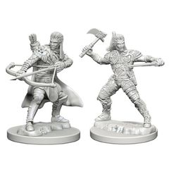 Dungeons And Dragons: Nolzur's Marvelous Unpainted Miniatures - Human Ranger (Male)