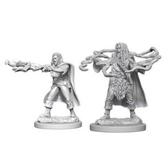 Dungeons And Dragons: Nolzur's Marvelous Unpainted Miniatures - Human Sorcerer (Male)