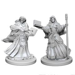 Dungeons And Dragons: Nolzur's Marvelous Unpainted Miniatures - Human Wizard (Female)