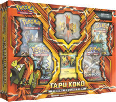 Tapu Koko Figure Collection Box