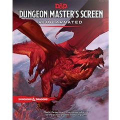5th Edition Dungeon Masters Screen - Reincarnated Edition