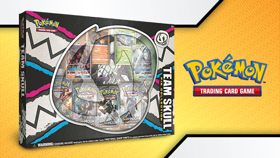 Team Skull Pin Collection Box