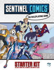 Sentinel Comics: The Roleplaying Game - Starter Kit