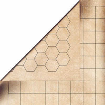 Chessex Megamat 1 Hex & Square Reversible 34.5 x 48 (CHX97246)