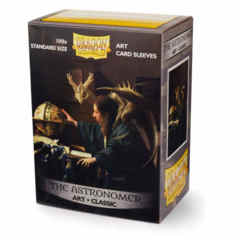 Dragon Shield Sleeves: Art Classic The Astronomer (Box Of 100)