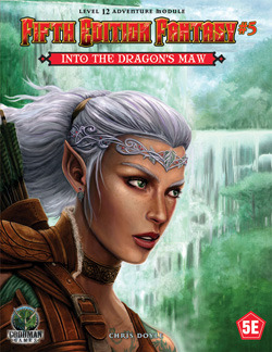 Into the Dragons Maw (Fifth Edition Fantasy #5)