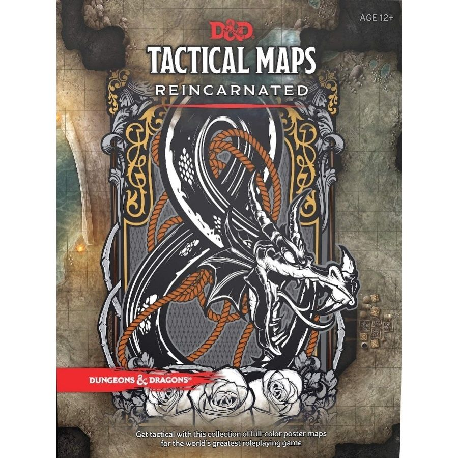 Dungeons and Dragons RPG: Tactical Maps Reincarnated