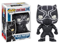 Funko Pop! Marvel: Captain America Civil War-Black Panther