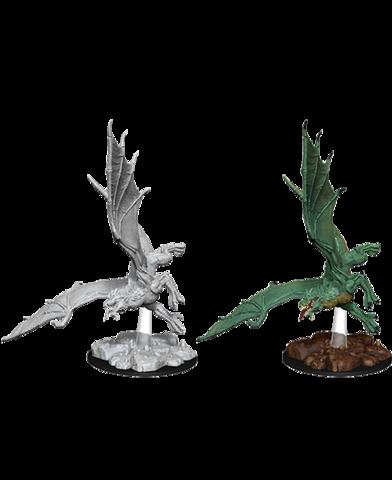 Nolzurs Marvelous Unpainted Miniatures - Young Green Dragon