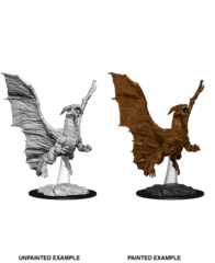 Nolzur's Marvelous Unpainted Miniatures - Young Copper Dragon