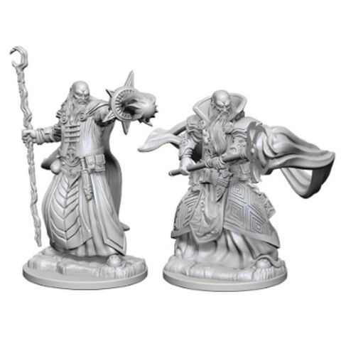 Dungeons And Dragons: Nolzurs Marvelous Unpainted Miniatures - Human Wizard (Male)