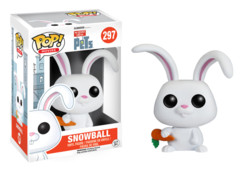 Funko Pop! Movies: Secret Life of Pets-Snowball