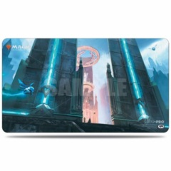 Ravnica Allegiance Hallowed Fountain Playmat