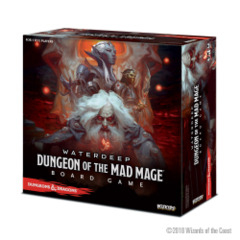 Dungeons And Dragons: Waterdeep: Dungeon Of The Mad Mage Adventure System Board Game - Standard
