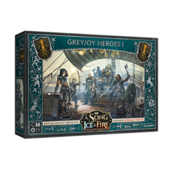 A Song of Ice & Fire - Tabletop Miniatures Game - Greyjoy Heroes 1