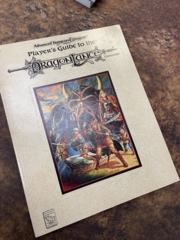 Advanced Dungeons and Dragons 2nd Edition: Player's Guide to the Dragon Lance Campaign