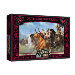 A Song of Ice & Fire - Tabletop Miniatures Game - Dothraki Outriders
