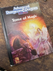 Advanced Dungeons and Dragons 2nd Edition: Tome of Magic