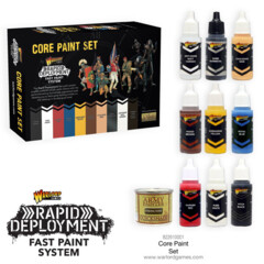Warlord Games: Core Paint Set