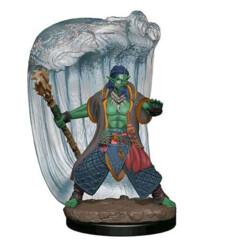 D&D Prepainted Premium Miniatures: Male Water Genasi Druid- W6