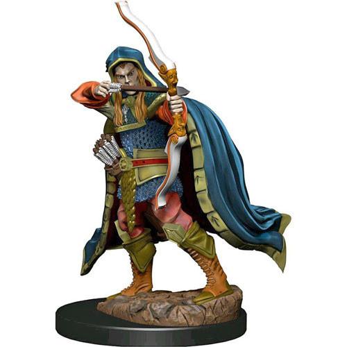 D&D Prepainted Premium Miniatures: Male Elf Rogue- W6