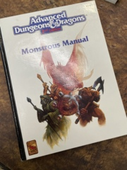 Advanced Dungeons and Dragons 2nd Edition: Monstrous Manual