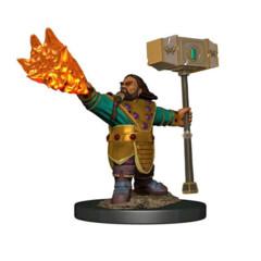 D&D Prepainted Premium Miniatures: Male Dwarf Cleric - W6