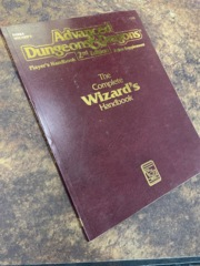 Advanced Dungeons and Dragons 2nd Edition: The Complete Wizard's Handbook