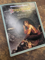 Advanced Dungeons and Dragons 2nd Edition: Dragon Lance - Wild Elves