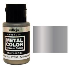 Vallejo Metal Color 777703 Dark Aluminum