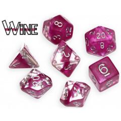 Neutron Dice: Wine (7 Polyhedral Dice Set)
