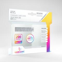 Standard Card Game Value Back: Matte Sleeves  (200)