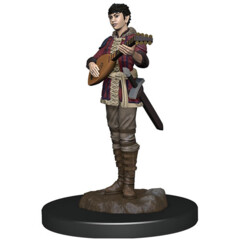 Icons of the Realms Premium Miniatures - Half-Elf Bard Wave 4