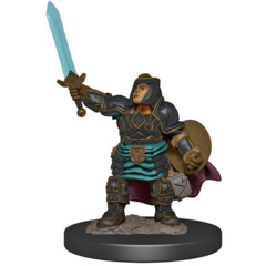 Icons of the Realms Premium Miniatures - Dwarf Paladin Wave 4