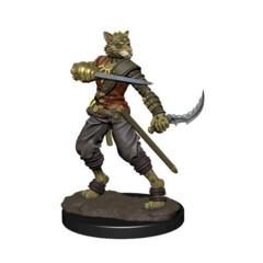 D&D Prepainted Premium Miniatures: Male Tabaxi Rogue- W6