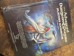 Advanced Dungeons and Dragons 1st Edition: Players Handbook Cover 2