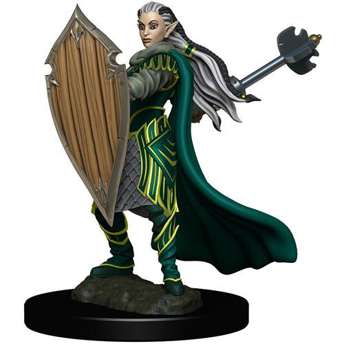 Icons of the Realms Premium Miniatures - Elf Paladin Wave 4