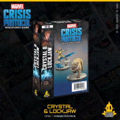 Marvel Crisis Protocol: Crystal & Lockjaw Character Pack