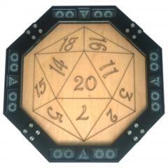 D20 Octagon Dice Tray