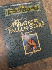 Advanced Dungeons and Dragons 2nd Edition: Pirates of the Fallen Stars