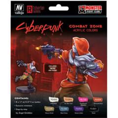 Cyberpunk Paint Set: Combat Zone -Exclusive  Nemo Mini