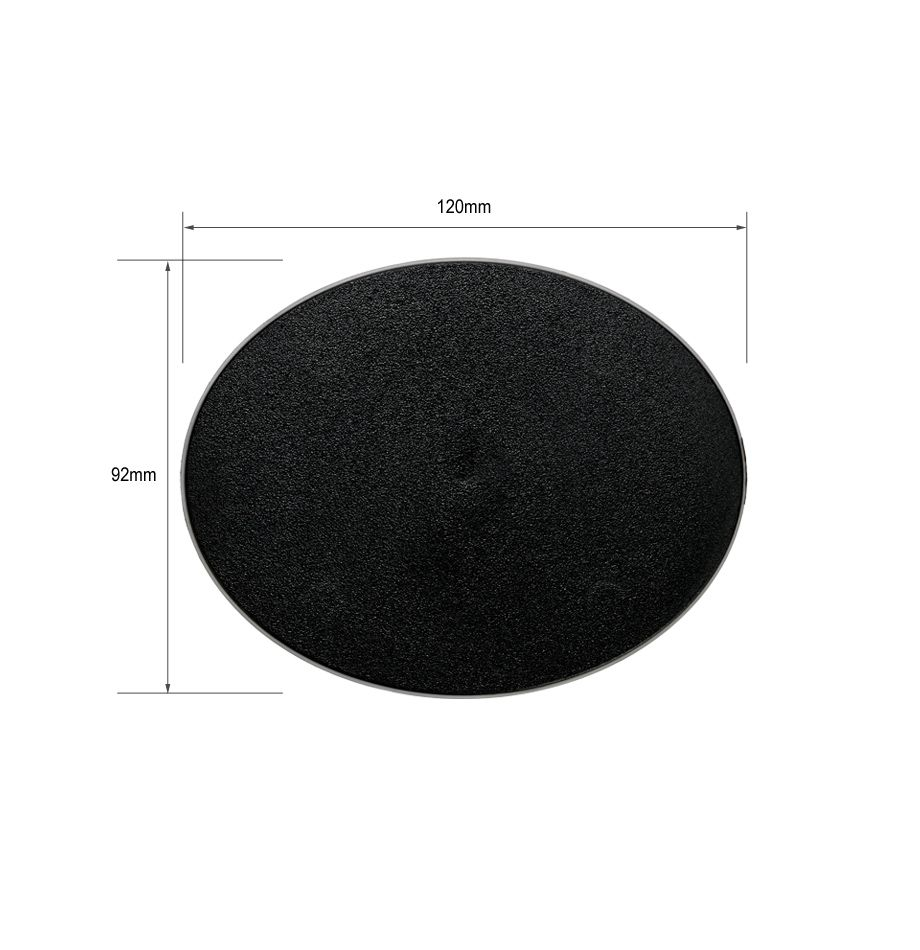 Large Oval Bases 120mm x 92mm