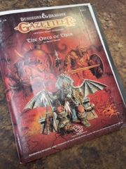 Dungeons and Dragons: Gazetteer- The Orcs of Thar