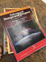 Advanced Dungeons and Dragons 2nd Edition: Dungeon Master's Design Kit