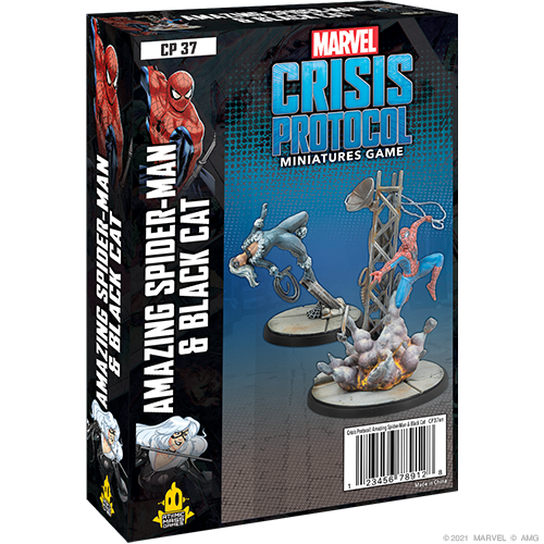 Marvel Crisis Protocol: Amazing Spider-Man & Black Cat Character Pack