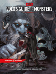 D&D Volo's Guide to Monsters- Hardcover