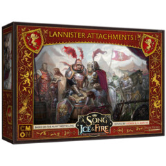 A Song of Ice & Fire - Tabletop Miniatures Game - Lannister Attachments I