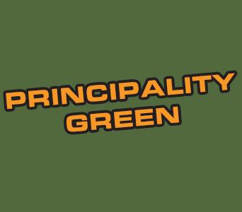 Acrylic: Principality Green